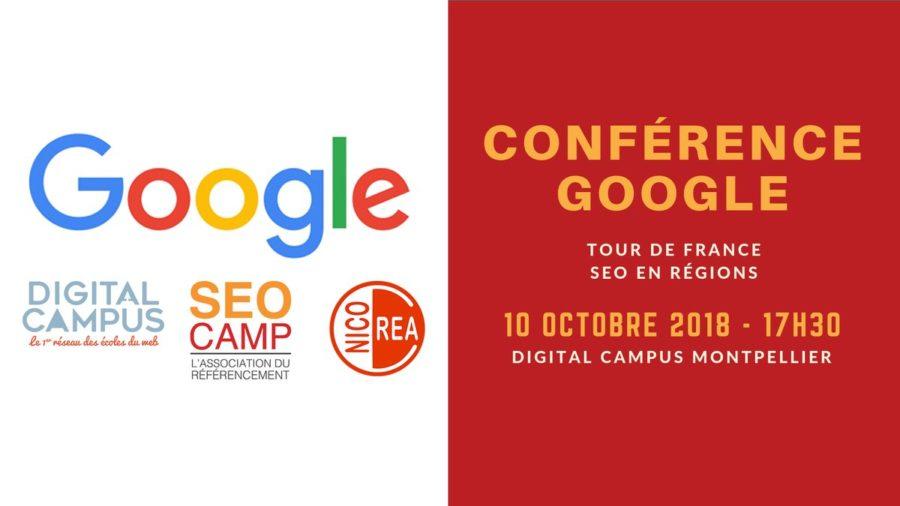 Conférence Google SEO à Montpellier