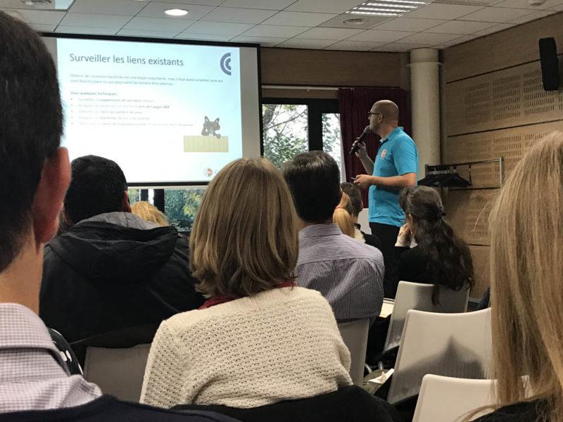 Conférence SEO à la CCI de Montpellier