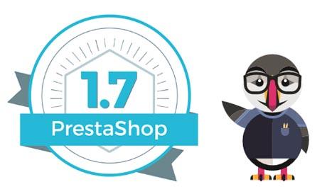 les nouveautés de PrestaShop 1.7