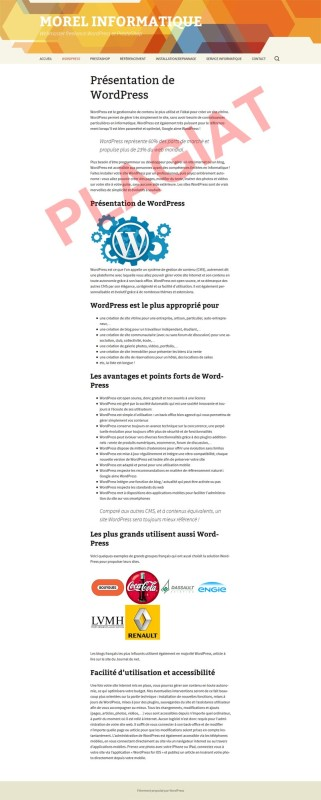 michel-morel-informatique-plagiat-prestations-wordpress