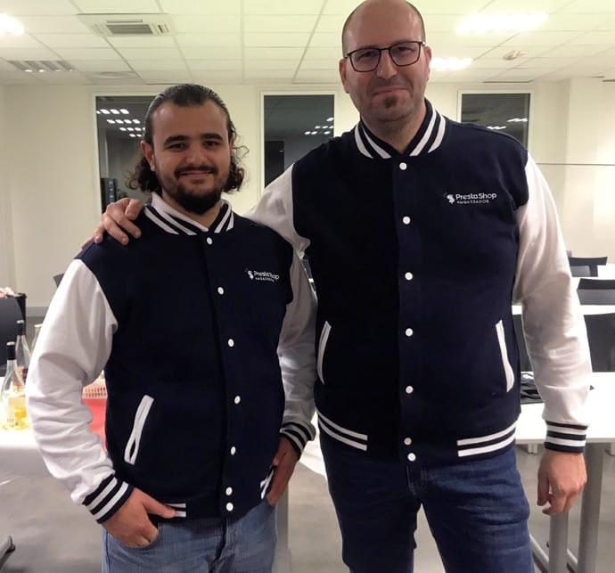 Nicolas Mercatili et Guillaume Batier, co-fondateurs de SeoPresta