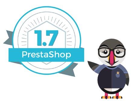 Nouveautés PrestaShop 1.7