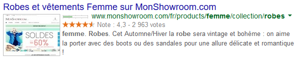 PrestaShop Rich Snippets et notes produits