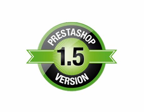 PrestaShop version 1.5