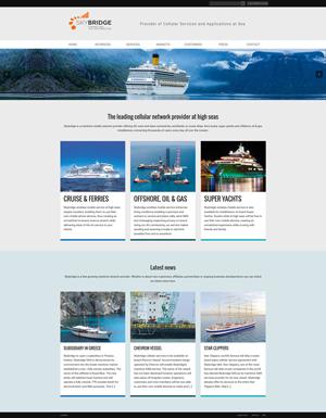 Refonte WordPress site SkyBridge
