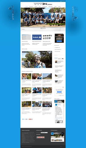 Vtt34 - Accueil site WordPress