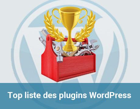 Top liste des plugins WordPress
